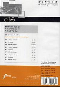 Play It - Lern-CD für Cello: Concertino In G Op. 11 G-Dur - Produktdetailbild 1
