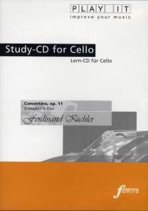 Play It - Lern-CD für Cello: Concertino In G Op. 11 G-Dur, Diverse Interpreten