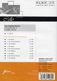 Play It - Lern-CD für Cello: Concertino Nr. 3 A-Dur - Produktdetailbild 1
