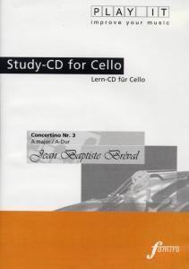 Play It - Lern-CD für Cello: Concertino Nr. 3 A-Dur, Diverse Interpreten