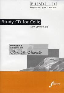 Play It - Lern-CD für Cello: Sonata Nr. 2 E-Moll, Diverse Interpreten