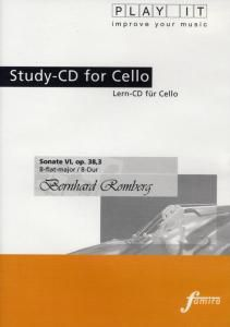 Play It - Lern-CD für Cello: Sonate Nr. 6 Op. 38,3 B-Dur, Diverse Interpreten