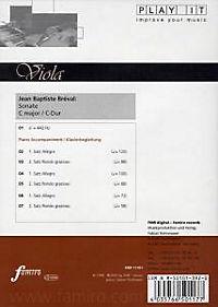 Play It - Lern-CD für Viola: Sonate C-Dur - Produktdetailbild 1