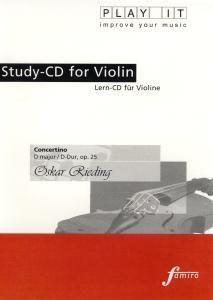 Play It - Lern-CD für Violine: Concertino D-Dur - Op. 25, Diverse Interpreten