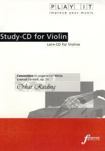 Play It - Lern-CD für Violine: Concertino in Ungarischer Weise, Diverse Interpreten