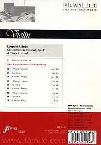 Play It - Lern-CD für Violine: Concertino In D Minor Op. 81 - Produktdetailbild 1
