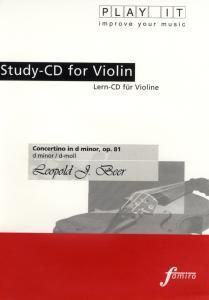 Play It - Lern-CD für Violine: Concertino In D Minor Op. 81, Diverse Interpreten