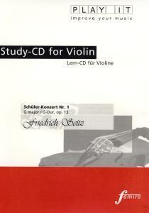 Play It - Lern-CD für Violine: Schüler-Konzert Nr. 1 G-Dur, Diverse Interpreten