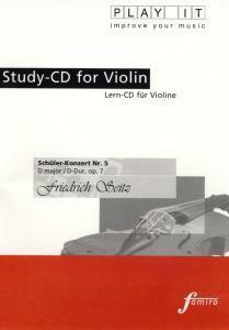Play It - Lern-CD für Violine: Schüler-Konzert Nr. 5 D-Dur, Diverse Interpreten