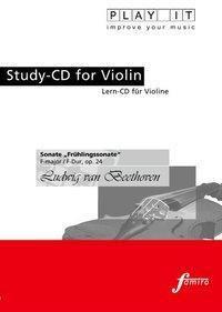 Play It - Lern-CD für Violine: Sonate - Frühlingssonate F-Dur, Diverse Interpreten