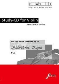 Play It - Lern-CD für Violine: Vier sehr leichte Sonatinen, Diverse Interpreten