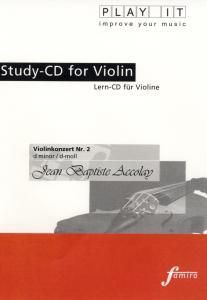 Play It - Lern-CD für Violine: Violinenkonzert Nr. 2 D-Moll, Diverse Interpreten