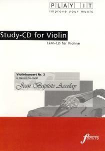 Play It - Lern-CD für Violine: Violinenkonzert Nr. 3 E-Moll, Diverse Interpreten