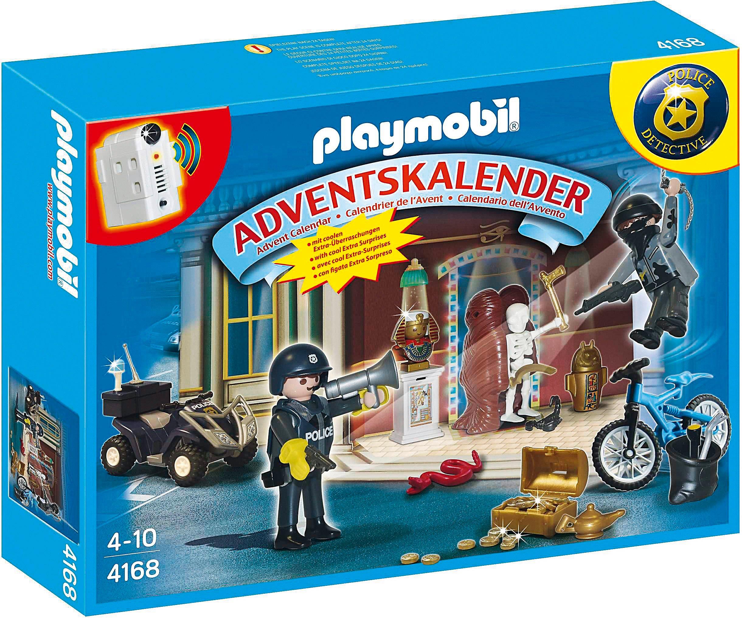 Coole Weihnachtskalender.Playmobil 4168 Adventskalender Polizeialarm Schatzräuber Auf Der