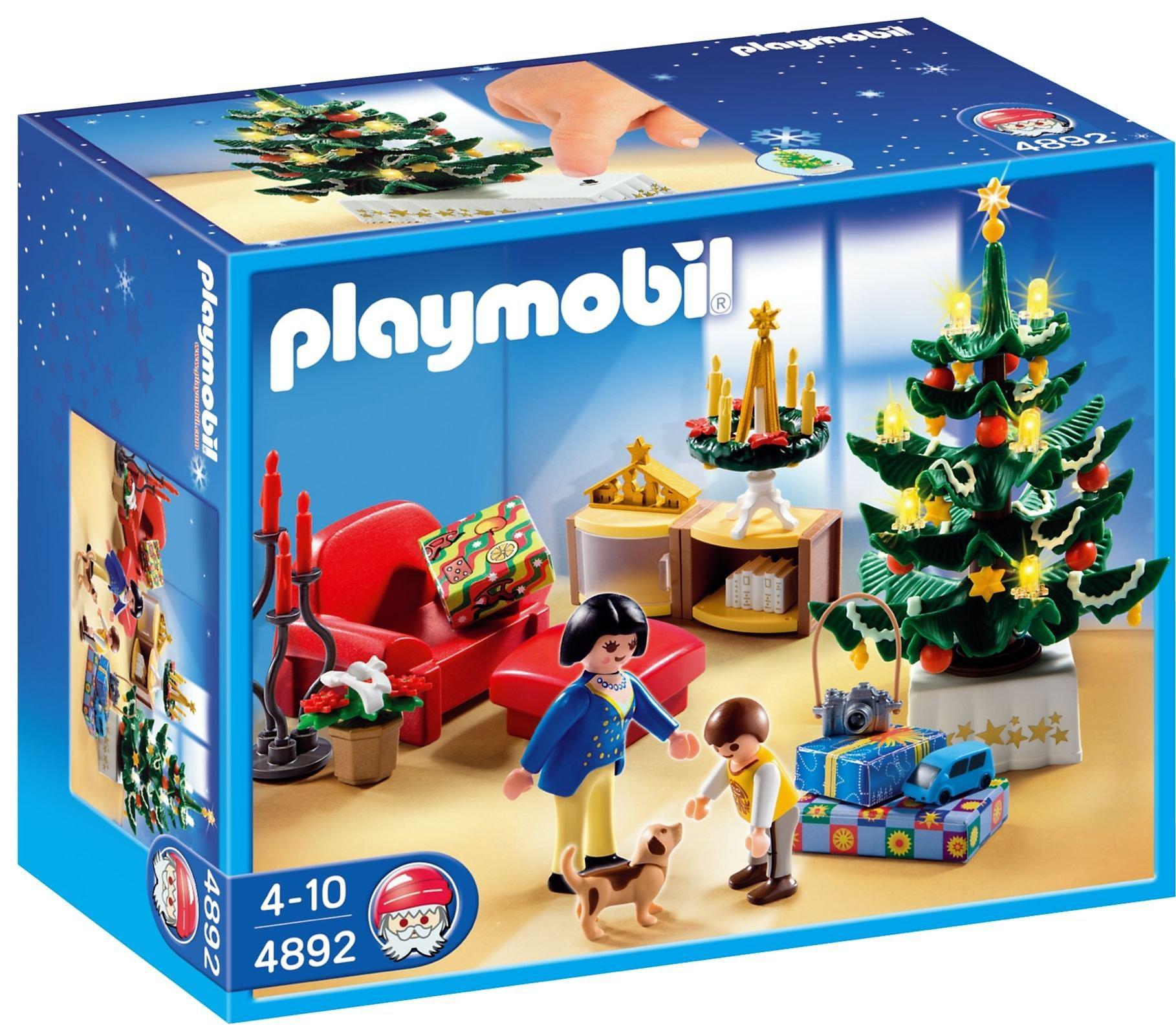 Playmobil Weihnachtsbaum.Playmobil 4892 Weihnachtszimmer Bestellen Weltbild De