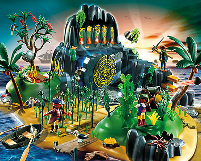 Playmobil 5134 Abenteuerschatzinsel Bestellen Weltbildde