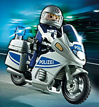 PLAYMOBIL® 5180 City Action - Polizeimotorrad mit Blinklicht - Produktdetailbild 1