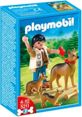 PLAYMOBIL® 5211 - Schäferhündin mit Welpen