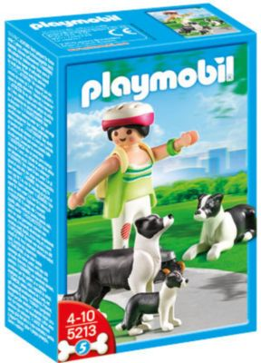 PLAYMOBIL® 5213 - Border Collie-Familie
