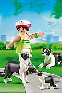 PLAYMOBIL® 5213 - Border Collie-Familie - Produktdetailbild 1