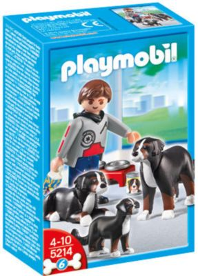 PLAYMOBIL® 5214 - Berner Sennenhund-Familie