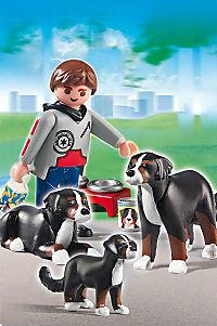 PLAYMOBIL® 5214 - Berner Sennenhund-Familie - Produktdetailbild 1