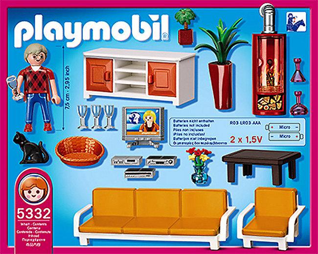 Hübsch Playmobil Wohnzimmer Fotos >> Playmobil Wohnzimmer Puppenhaus ...