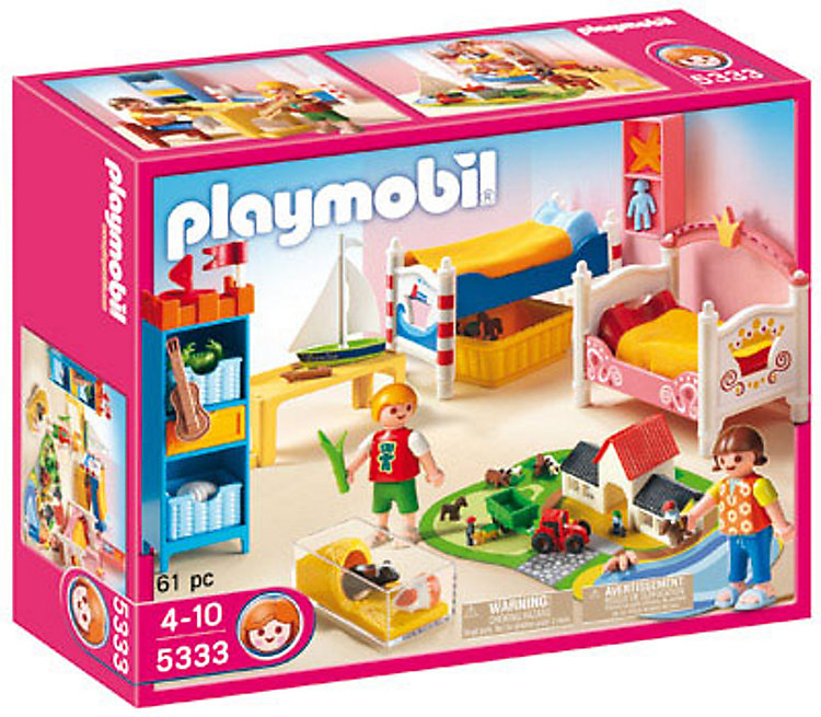 PLAYMOBIL® 5333 Dollhouse - Fröhliches Kinderzimmer ...