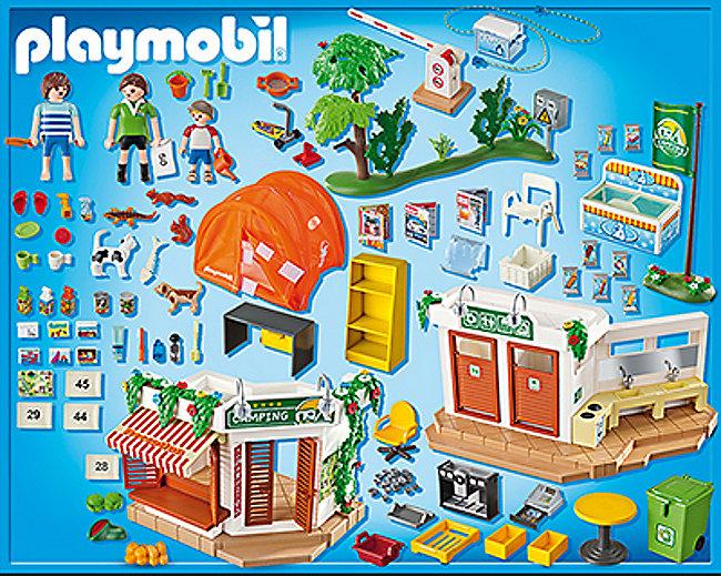 PLAYMOBIL® 5432 Summer Fun - Grosser Campingplatz ...