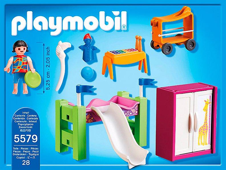PLAYMOBIL® 5579 City Life - Kinderzimmer mit Hochbett ...