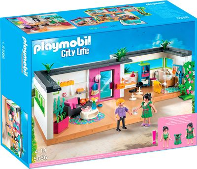 playmobil 5586 city life g stebungalow bestellen. Black Bedroom Furniture Sets. Home Design Ideas