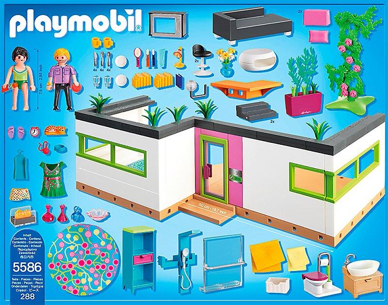 PLAYMOBIL® 5586 City Life - Gästebungalow bestellen ...