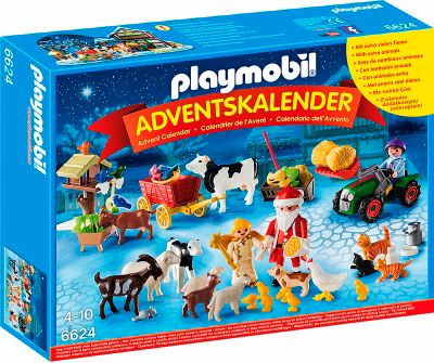 playmobil 6624 adventskalender weihnacht auf dem. Black Bedroom Furniture Sets. Home Design Ideas