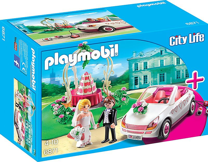 playmobil 6871  starterset hochzeit bestellen  weltbildde