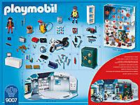 PLAYMOBIL 9007 - Adventskalender Polizeieinsatz im Juweliergeschäft - Produktdetailbild 2