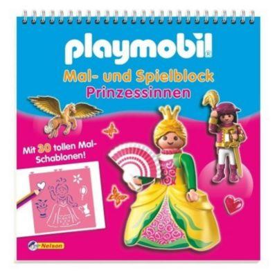 Playmobil Mal- und Spielblock Prinzessinnen