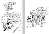 Playmobil. Mein Sticker-Malbuch Polizei - Produktdetailbild 1
