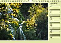Plitvicer Seen - Europas erster Nationalpark (Wandkalender 2019 DIN A4 quer) - Produktdetailbild 2