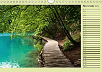 Plitvicer Seen - Europas erster Nationalpark (Wandkalender 2019 DIN A4 quer) - Produktdetailbild 11