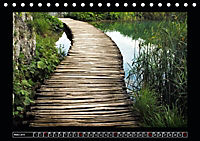 Plitvicer Seen - Europas erster Nationalpark (Tischkalender 2019 DIN A5 quer) - Produktdetailbild 3