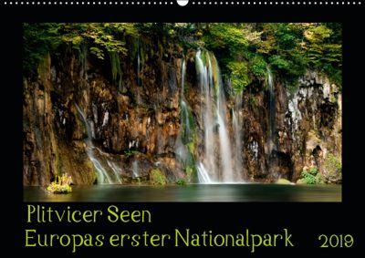 Plitvicer Seen - Europas erster Nationalpark (Wandkalender 2019 DIN A2 quer), Kirsten Karius