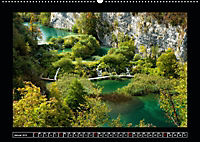 Plitvicer Seen - Europas erster Nationalpark (Wandkalender 2019 DIN A2 quer) - Produktdetailbild 1
