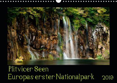 Plitvicer Seen - Europas erster Nationalpark (Wandkalender 2019 DIN A3 quer), Kirsten Karius