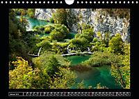 Plitvicer Seen - Europas erster Nationalpark (Wandkalender 2019 DIN A4 quer) - Produktdetailbild 1