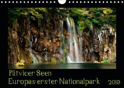 Plitvicer Seen - Europas erster Nationalpark (Wandkalender 2019 DIN A4 quer), Kirsten Karius