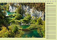 Plitvicer Seen - Europas erster Nationalpark (Tischkalender 2019 DIN A5 quer) - Produktdetailbild 1