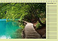 Plitvicer Seen - Europas erster Nationalpark (Tischkalender 2019 DIN A5 quer) - Produktdetailbild 11