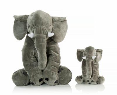 Plüsch Elefant, groß und klein