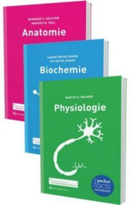 Pocket Facts im Paket, 3 Bde., Bernard C. Kolster, Martin H. Maurer, Kai Meyer-Rogge, Sabine Meyer-Rogge, Markus M. Voll