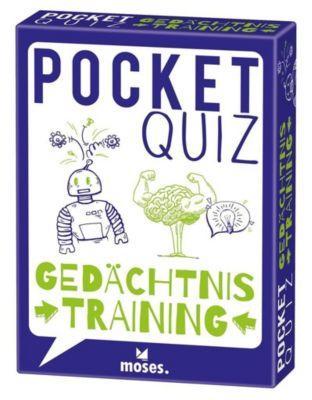 Pocket Quiz Gedächtnistraining (Spiel) - Elke Vogel  